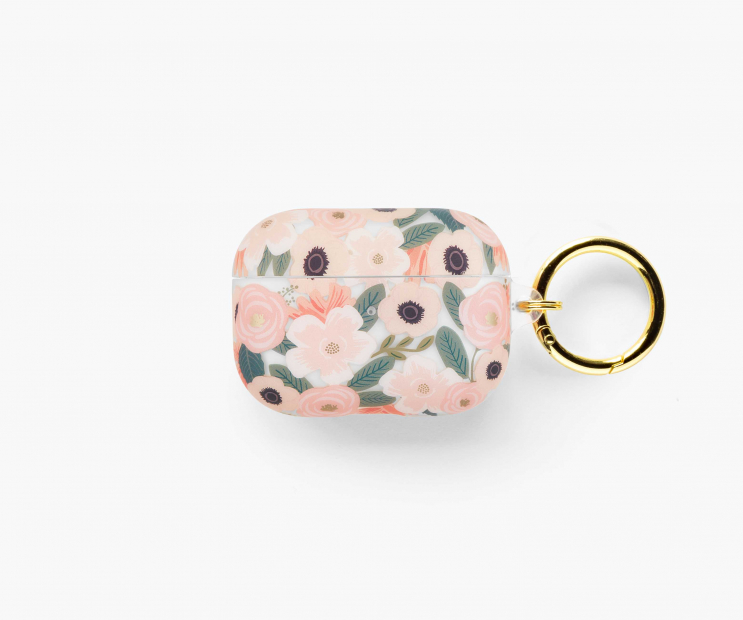 Clear Wildflowers AirPods Pro Case