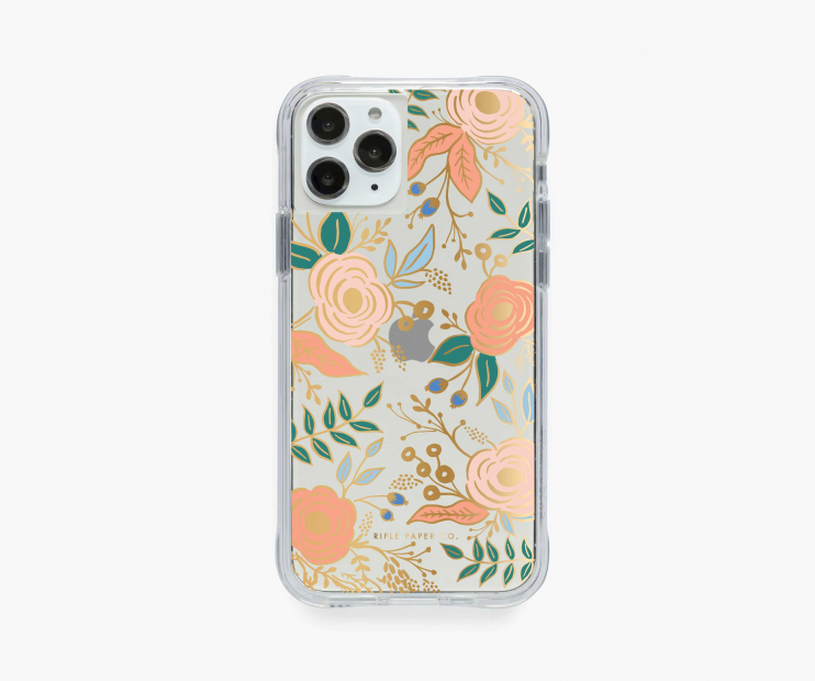 Clear Colette iPhone Case