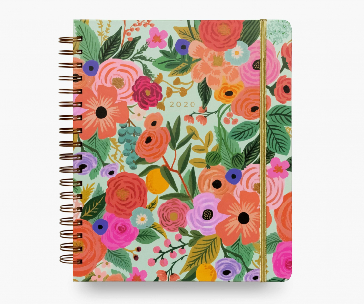 2020 Garden Party 17-Month Large Planner
